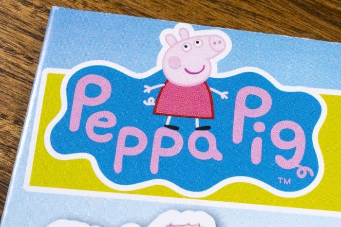 Peppa Pig colorear