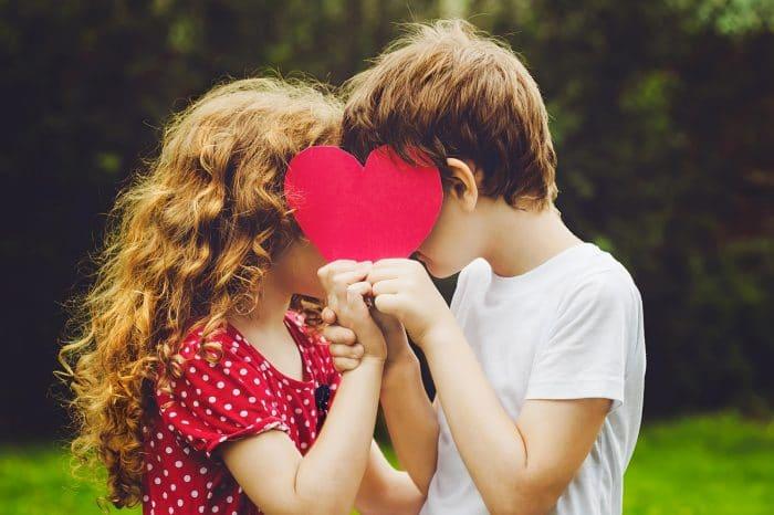 Enamoramiento infantil