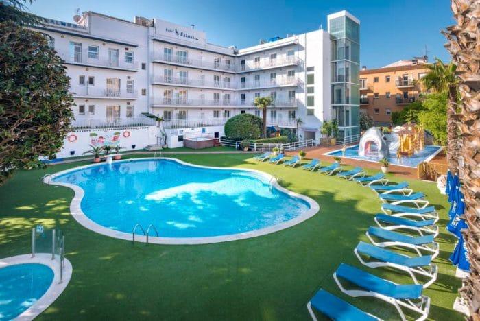 Hotel GHT Balmes, en Calella, Barcelona
