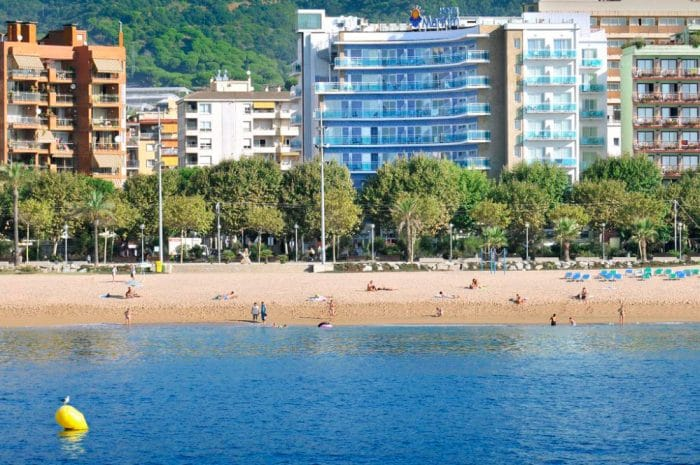 Hotel GHT Maritim, en Calella, Barcelona