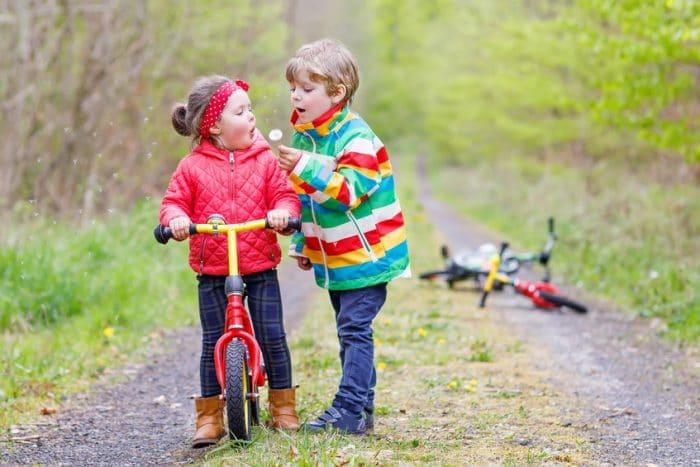 Niños enamoran