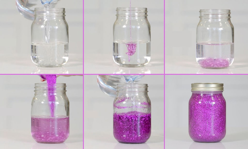 Cómo hacer una botella o frasco de la calma o bote mágico para niños