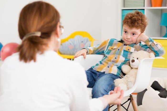 Cerebro del niño con TDAH