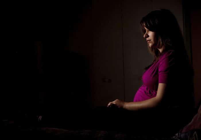 Depresión durante el embarazo síntomas