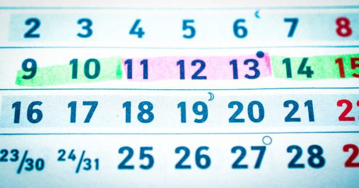 Calcular días de máxima fertilidad
