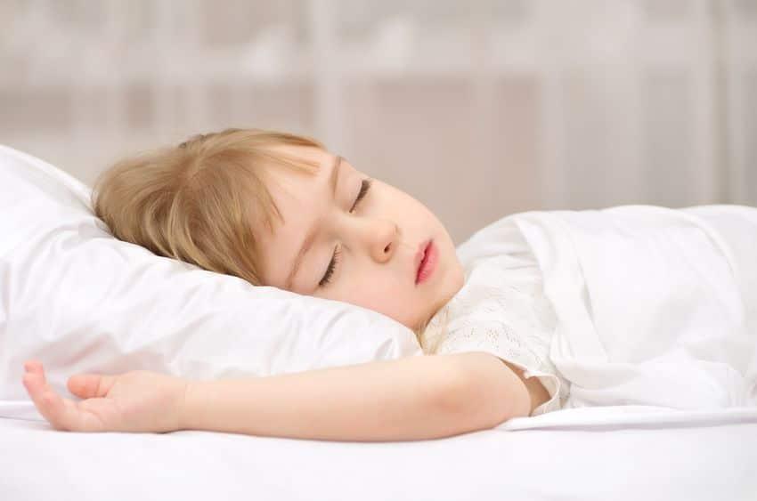 Horas sueño niños