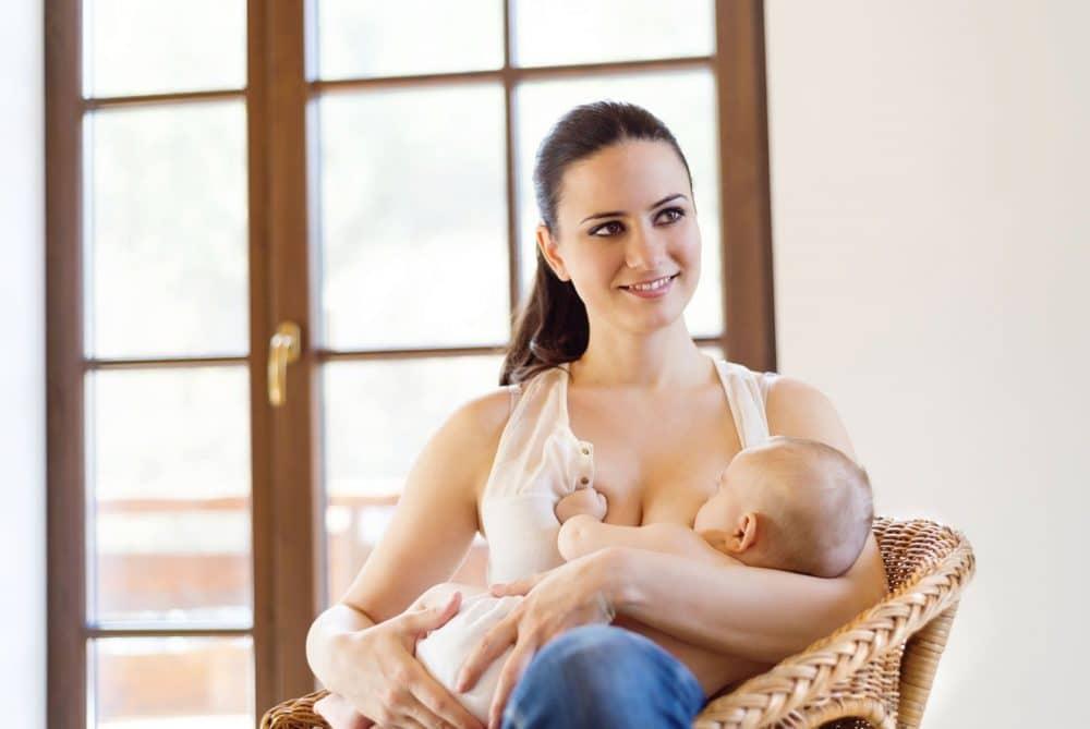 Lactancia materna esclava feliz
