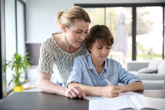 Mejorar calificaciones niño
