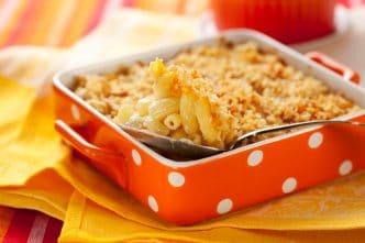 Receta Pasta gratinada