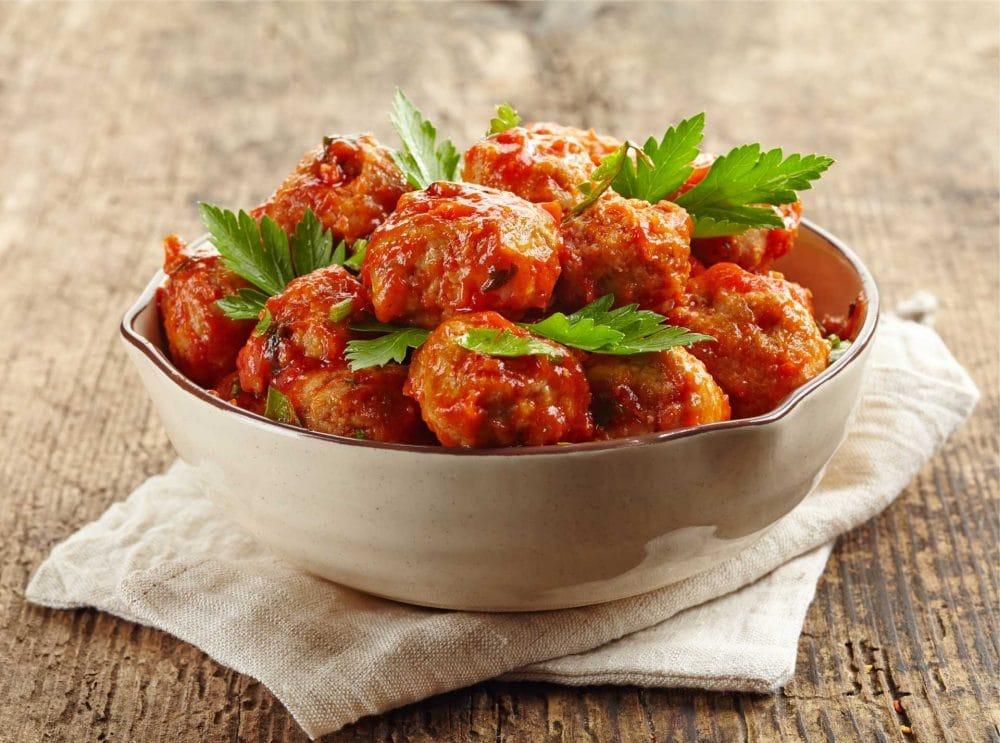 Albóndigas de cordero con tomate