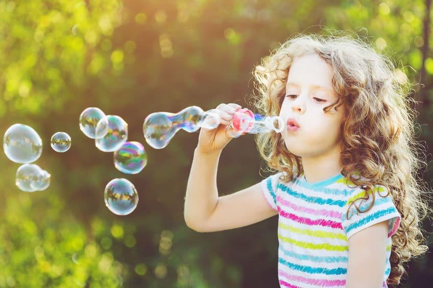 Técnica soplar burbujas ansiedad infantil