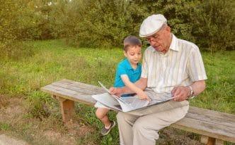 Abuelos que se convierten en padres de sus nietos