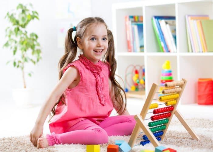 Beneficios del abaco para niños