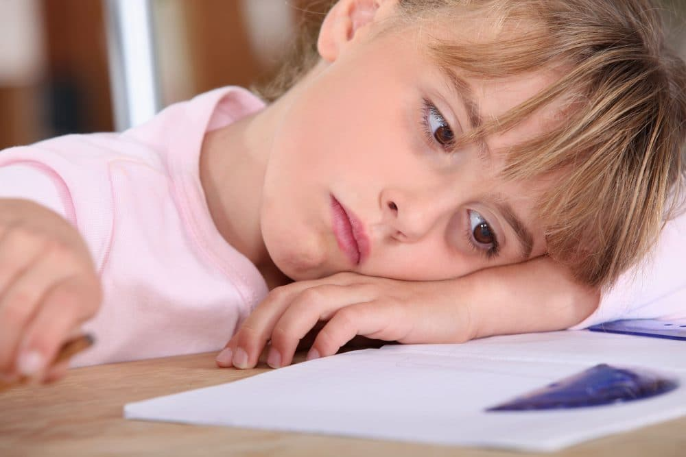Efectos presión académica niños