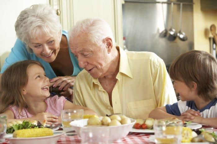 abuelos educación nietos