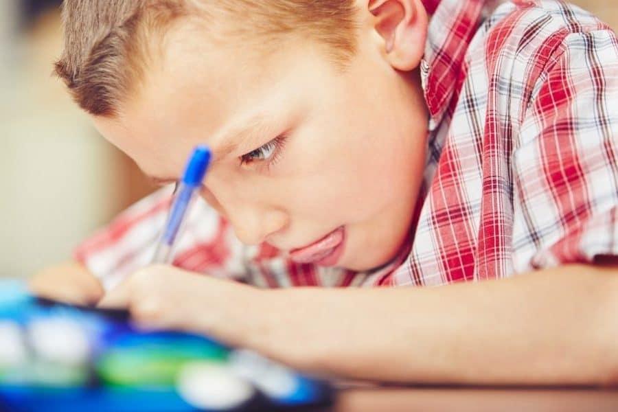 Calendario tarde niños tareas