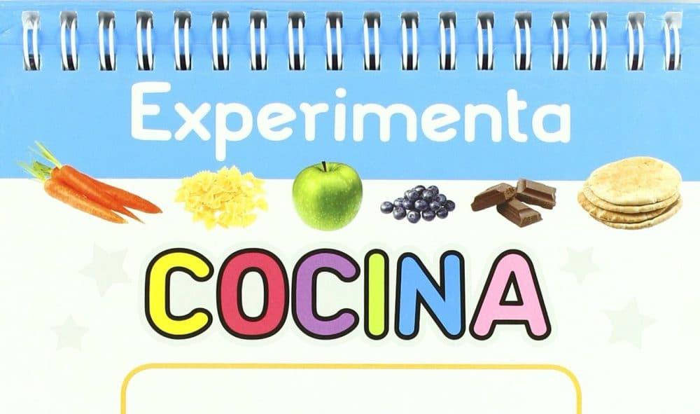 Libro Cocina Experimenta cocina, recetas sencillas para niños