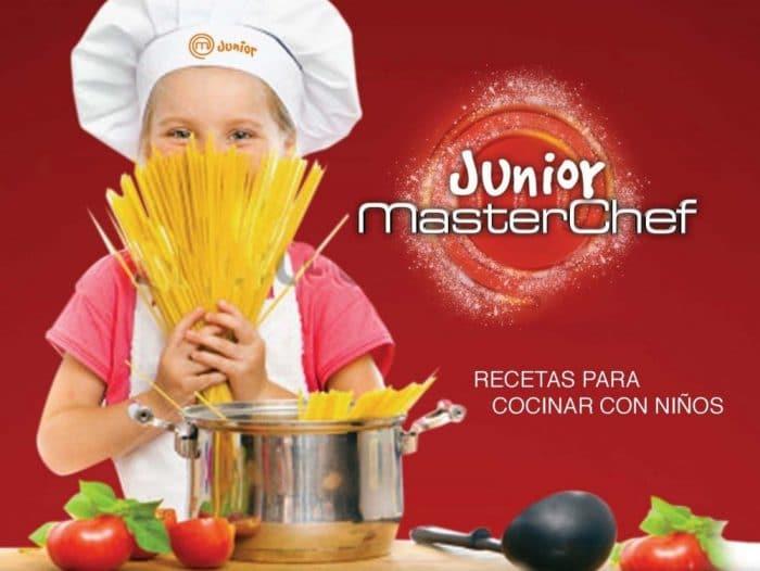 Libro Cocina MasterChef Junior Recetas para cocinar con niños