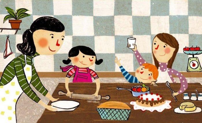 Libro Niños a la cocina 80 recetas dulces