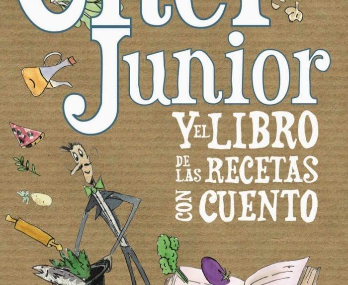 Libro infantil Chef Junior y el libro de las recetas con cuento
