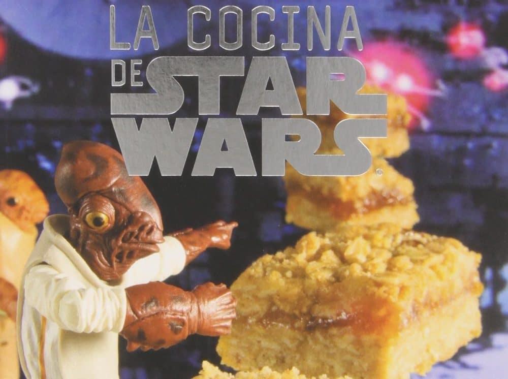 Libro infantil La cocina de Star Wars Pastelitos wookie, scones clon y otras delicias galácticas