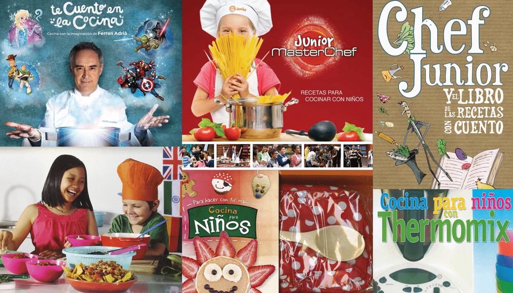 10 libros imprescindibles para los pequeños chefs de casa