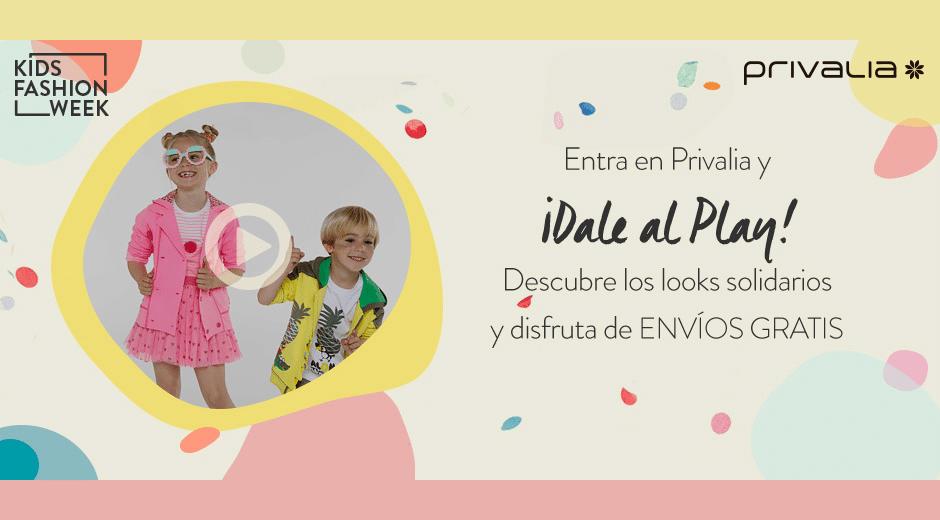 Campaña con looks solidarios en Privalia Kids