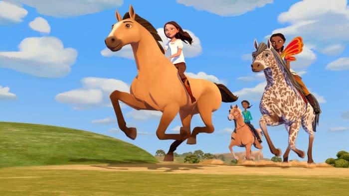 Serie dibujos Netflix Spirit, cabalgando en libertad