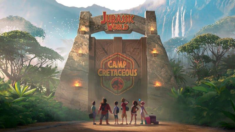 Serie infantil Jurassic World, Campamento Cretácico