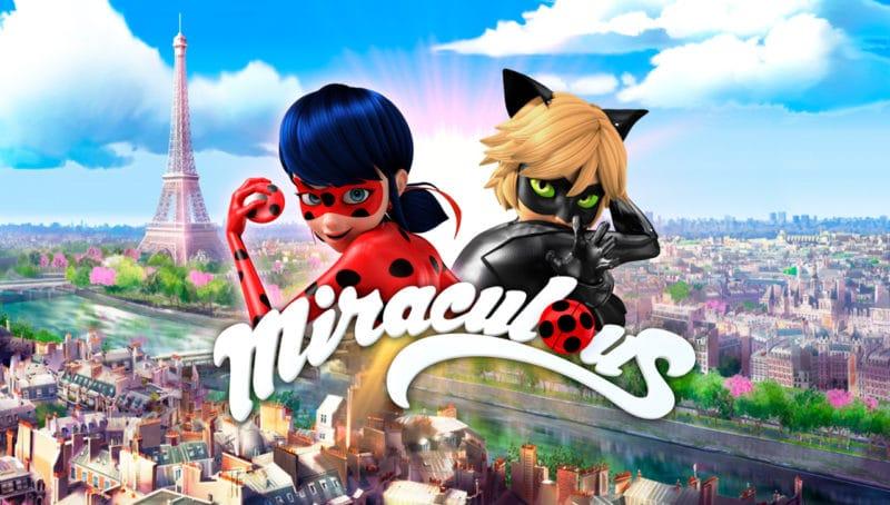 Serie infantil Miraculous: Las aventuras de Ladybug