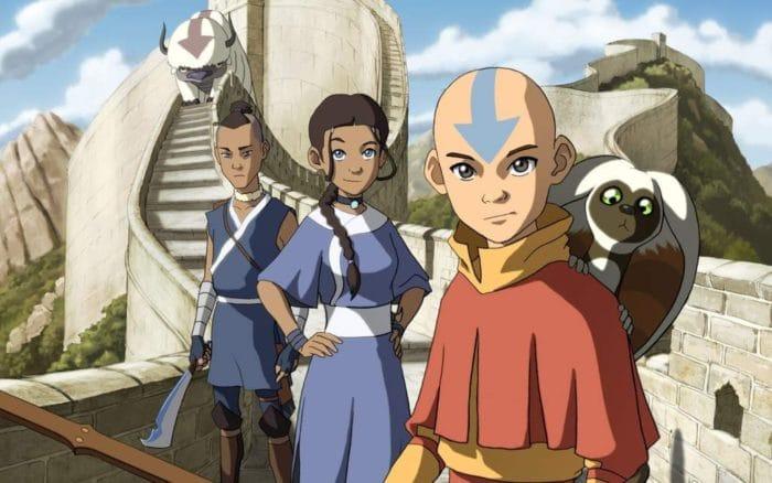 Serie infantil Avatar, la leyenda de Aang
