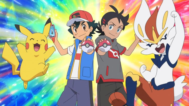 Serie infantil Viajes Pokémon