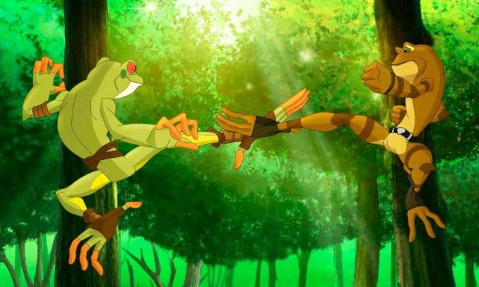 Serie kids Netflix Kulipari: El ejército de ranas