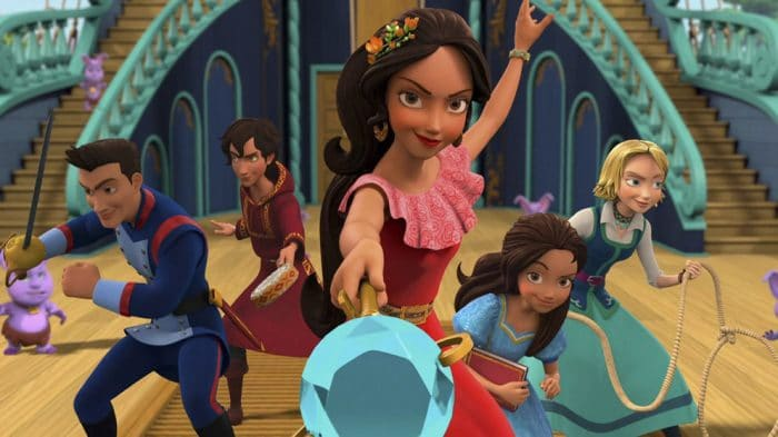 Serie niñas Netflix Elena de Ávalor