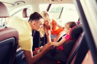 Sistemas de retención infantil en automóviles