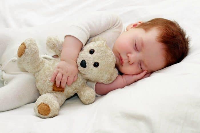 Tabla de tiempo del sueño de bebés y niños