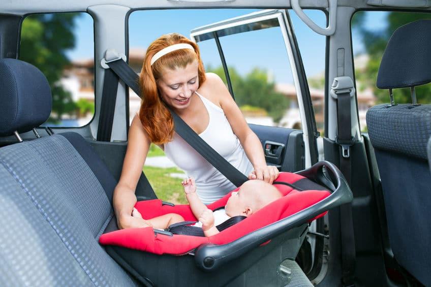 Tipos y grupos de silla de coche para niños y bebes
