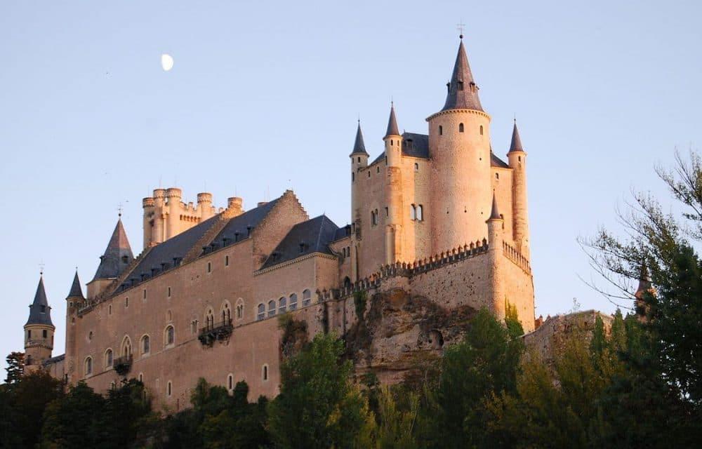 El Alcázar, en Segovia