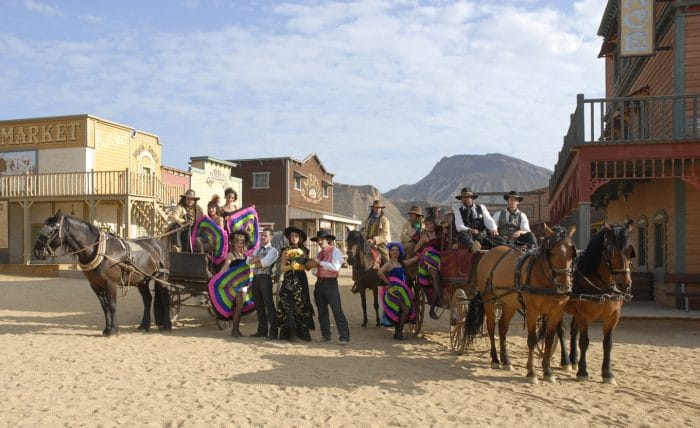 Parque temático Oasys, en Almería