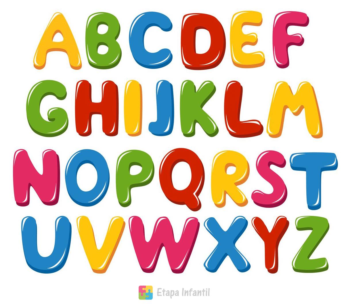 enseñar de forma divertida el abecedario a un niño etapa infantil