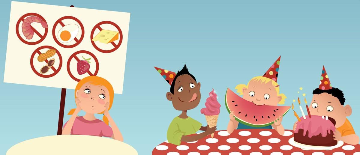 Alimentos peligrosos niños