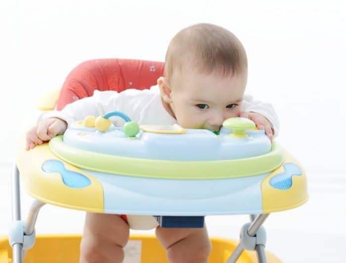 Andadores para bebés son buenos o malos