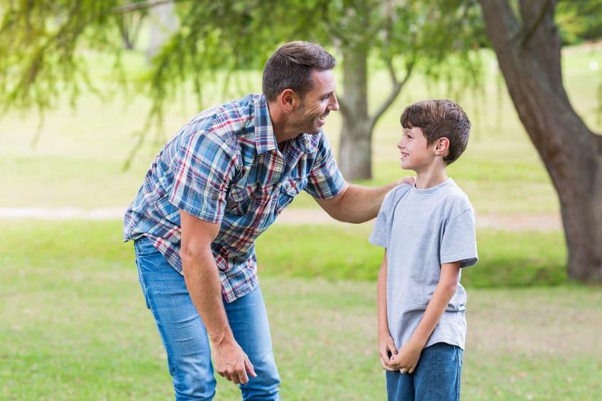Confianza padre e hijo