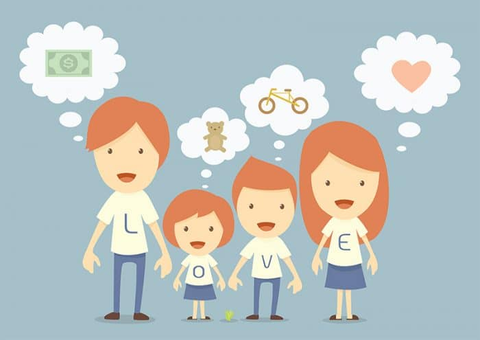 El dinero no compra la felicidad