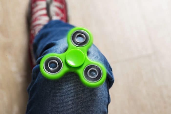 Fidget Spinner TDAH autismo