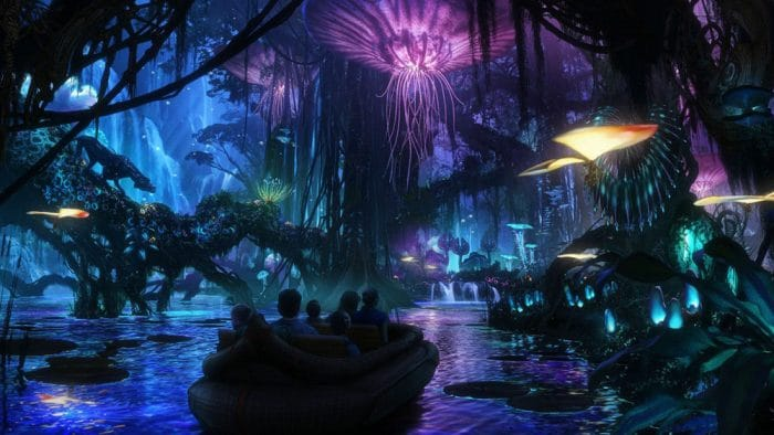 Pandora parque temático Avatar