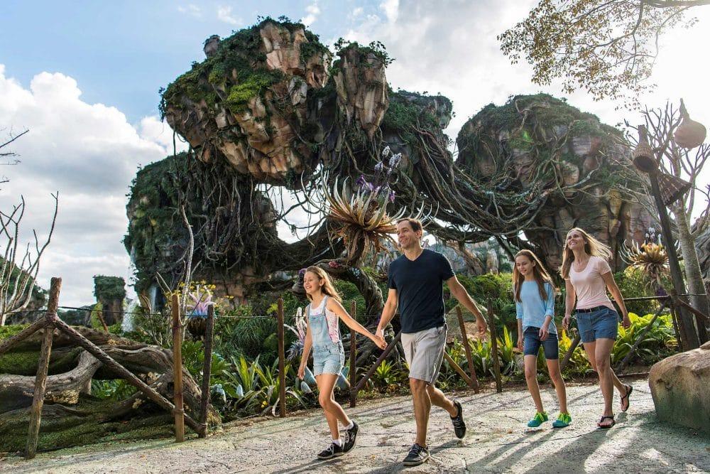 Pandora parque temático mundo Avatar