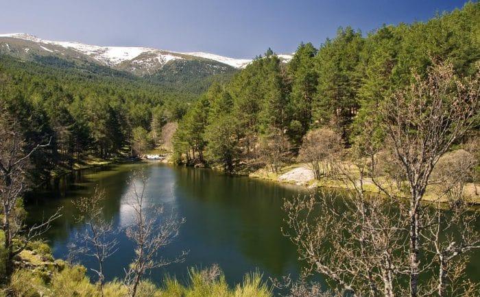 Piscina natural La Isla de Rascafría, en Madrid