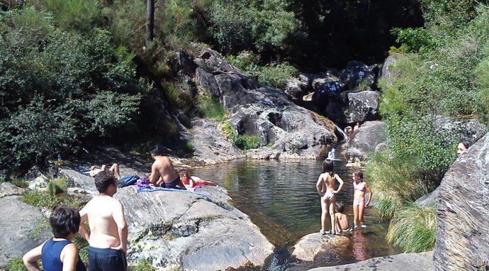 Piscina natural Las Pozas de Puebla, en Madrid