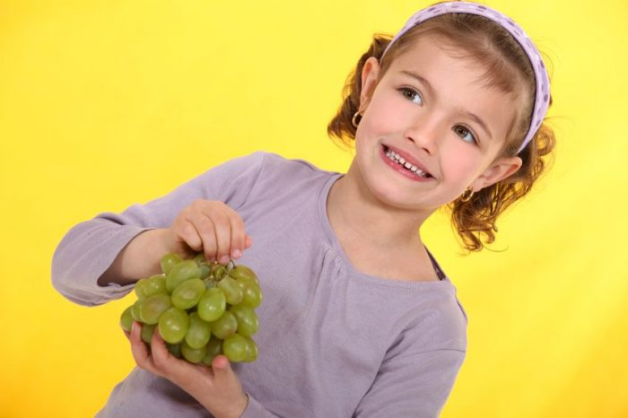 Riesgo atragantado con uva